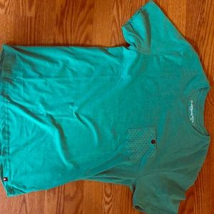 BRAND NEW➡️ TEAL | POCKET TEE SIZE M